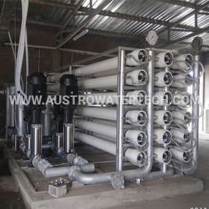 A Picture of Zero Liquid Discharge Plant